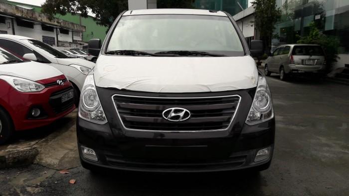 Ưu đãi quá bất ngờ lên đến 40 triệu đồng chỉ còn 1 chiếc duy nhất Hyundai Starex 9 chỗ đen dầu 5