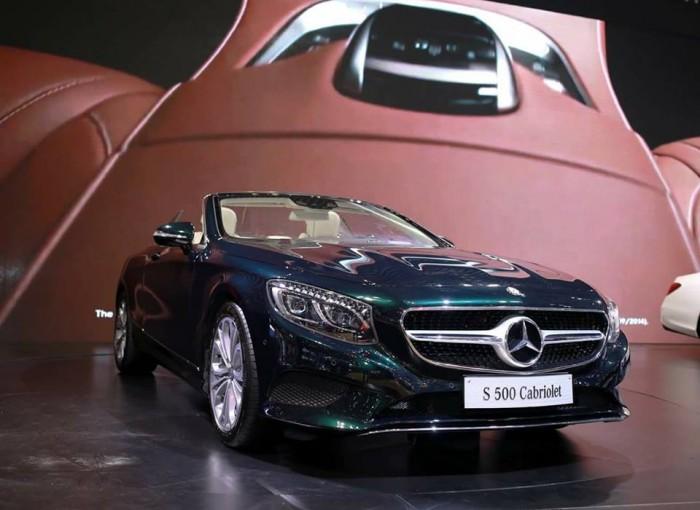 Mercedes-Benz S500 sản xuất năm 2016 Số tự động Động cơ Xăng