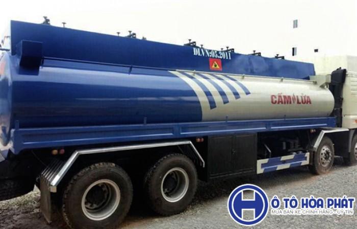 Xe bồn xăng dầu 22m3 Faw