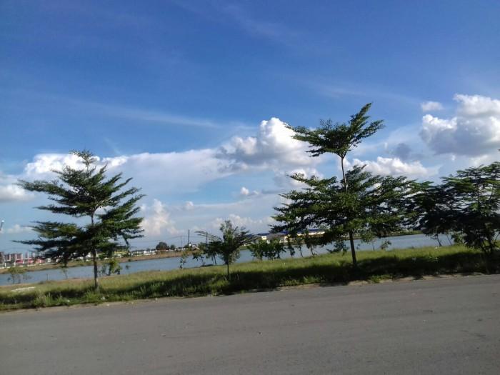 Bán đất thổ cư gần KCN Tân Phú Trung, 295 triệu/ nền, sổ hồng riêng, có GPXD.