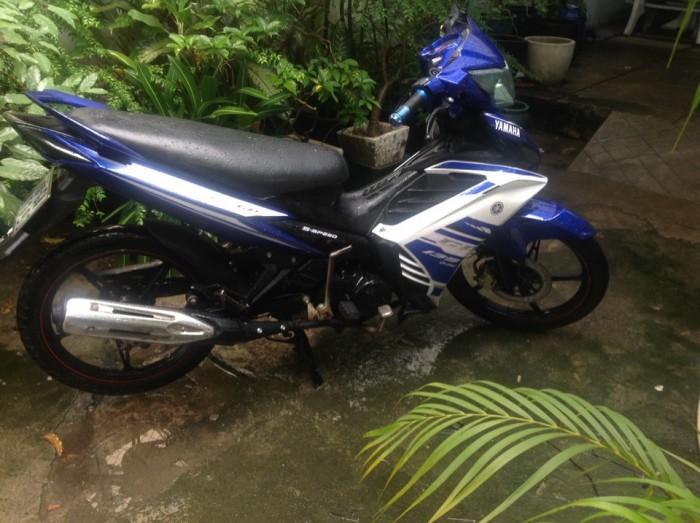 Exciter 50cc Xanh trắng GP