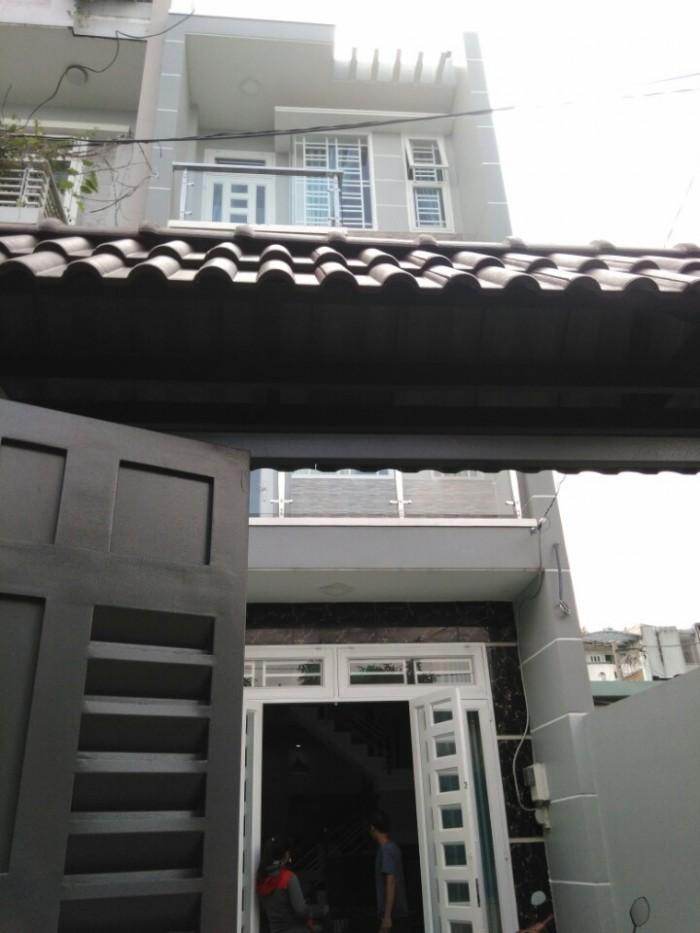 Nhà 25/46A BQLà, p12,GV, HXH5mThông, 4x17.5m, 1Trệt+2lầu, 4PN,3WC, TâyBắc