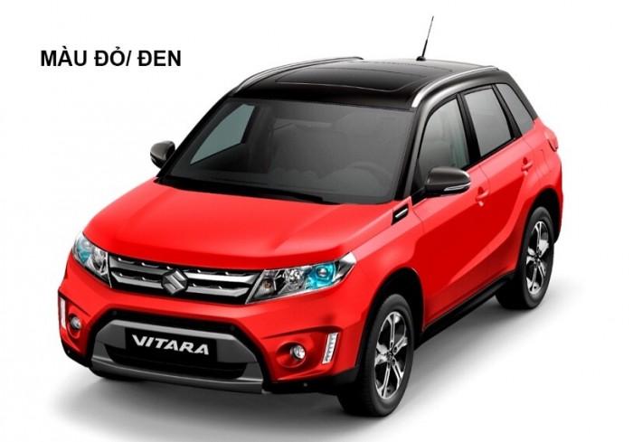 Bán xe Vitara mầu đỏ cờ đẹp không tỳ vết