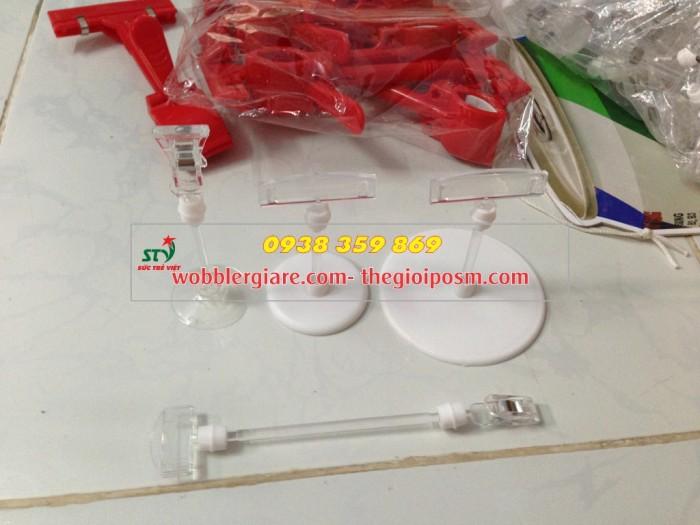 lò xo bọc nhựa giá rẻ, sản xuất lò xo bọc nhựa đẹp, wobbler để bàn lò xo bọc nhựa, kẹp lò xo, kẹp nhựa bảng giá
