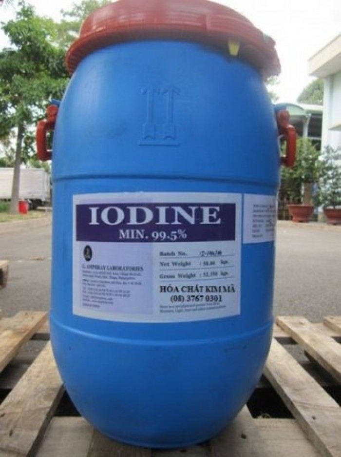 Iodine hạt , I2, xử lý nước, thú y, y tế...mới 100%