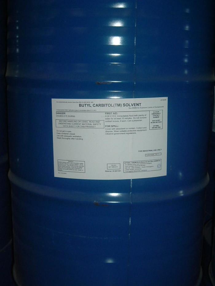Butyl Carbitol , BC, Dung môi trong công nghiệp chất tẩy rửa, Dung môi chính cho mực in lụa ....
