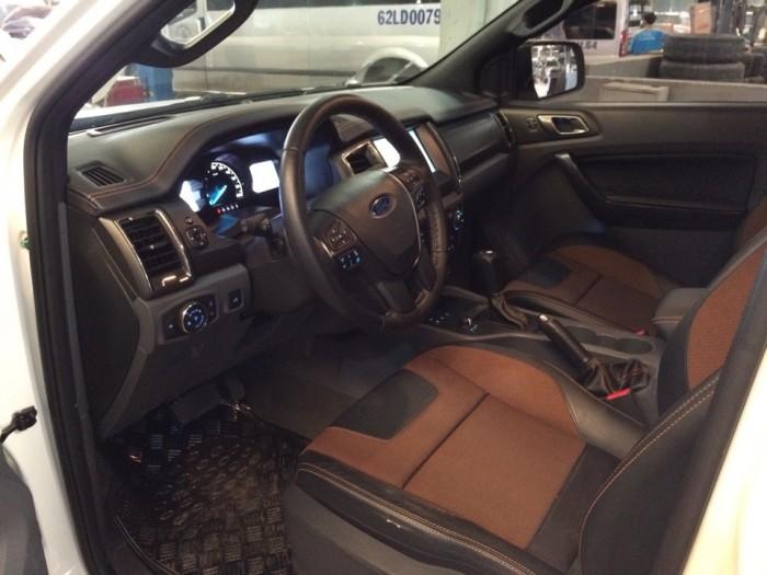 Ford Ranger Wildtrak 3.2 2016, màu Trắng camay, xe quá chất