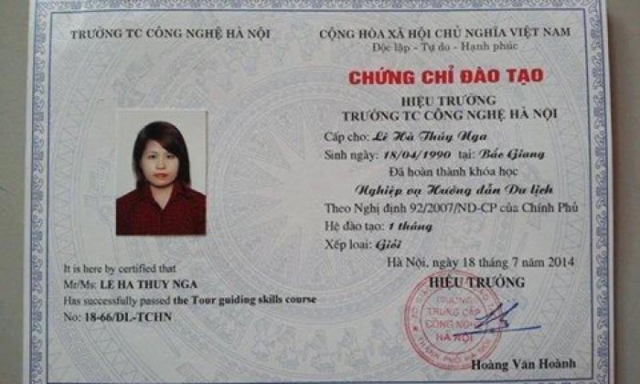 Đào tạo nghiệp vụ hướng dẫn viên du lịch Lh:Ms.Dung