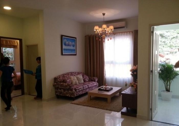 Cho thuê căn hộ Quang Thái 63m2 (2PN, 2wc) giá thuê 6.5tr/tháng có nội thất đến ở ngay gần Đầm Sen