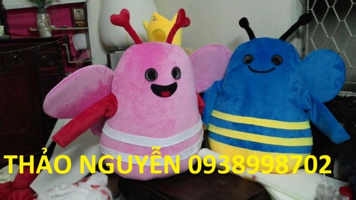 May mascot giá rẻ, mascot pikachu dễ thương