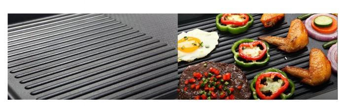 Bếp Nướng Điện Đa Năng ELECTRIC BARBECUE PLATE 1500W ( Loại Lớn)