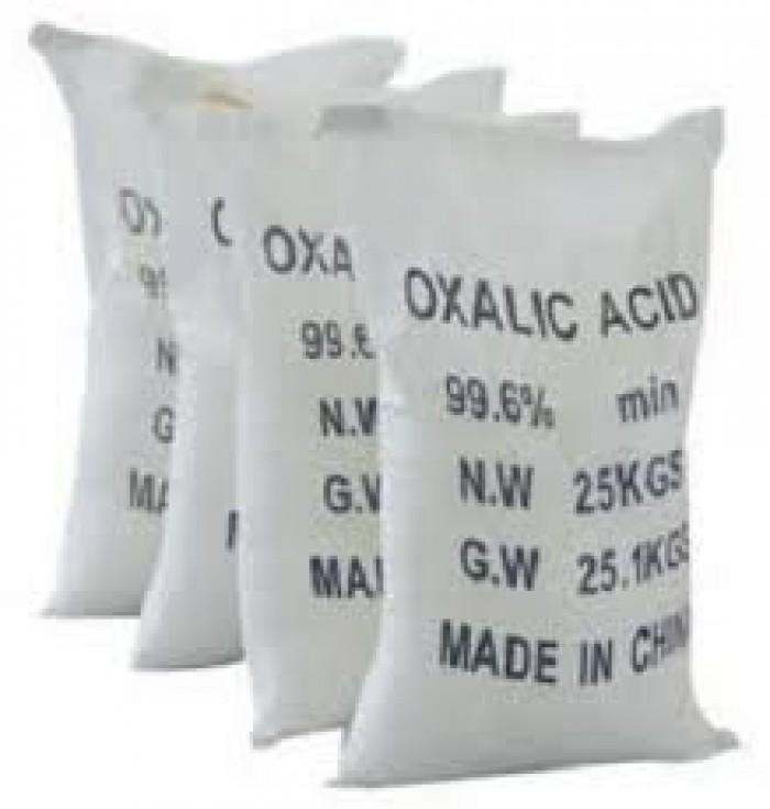 Oxalic Acid, Chế tạo dung dịch chất tẩy rửa, chế tạo da thuộc, đánh bóng đá hoa cương