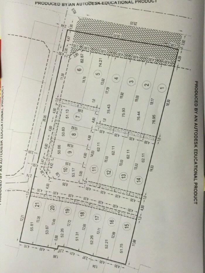 Bán Lô Đất thổ cư gần chợ, Số 11 ThốngNhất, P11, GVấp, HXH4.5m, 4x15.5m, ĐôngBắc