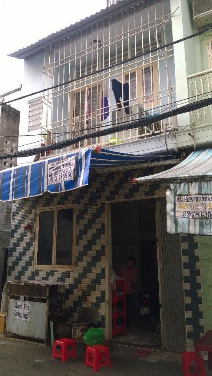 Cần bán nhà hẻm Bùi Đình Túy, P.24, Bình Thạnh dt 4x4m