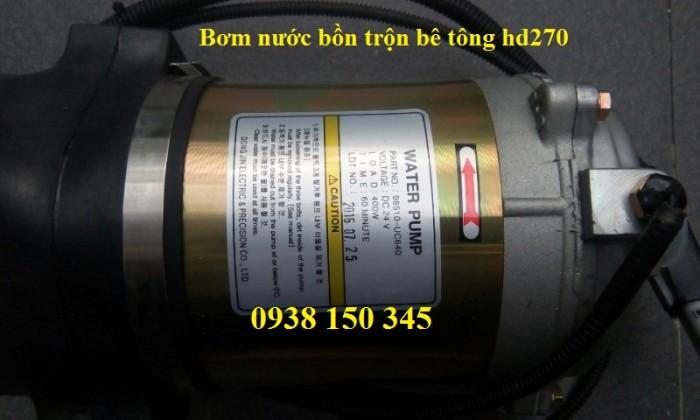 Bơm nước bồn trộn xe bê tông hd270