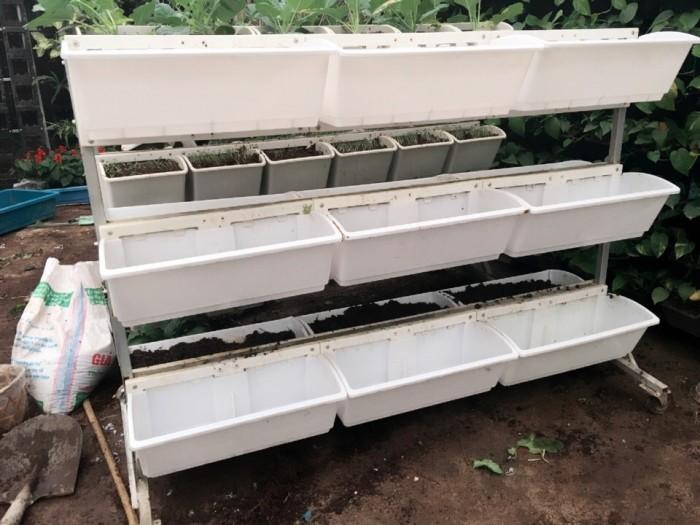 Bộ trồng rau di động 2 bên QA04