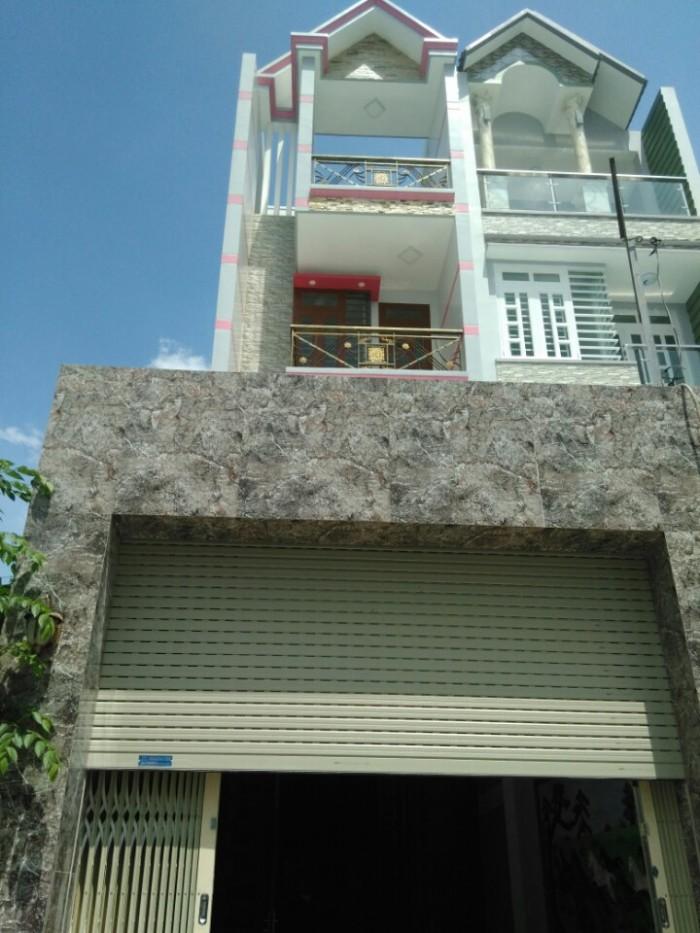Nhà Mặt Tiền 248 Đườngsố 9,P9,GV, 3.8x22m(NH), 1trệt+2.5lầu, 5PN,5WC, TâyNam