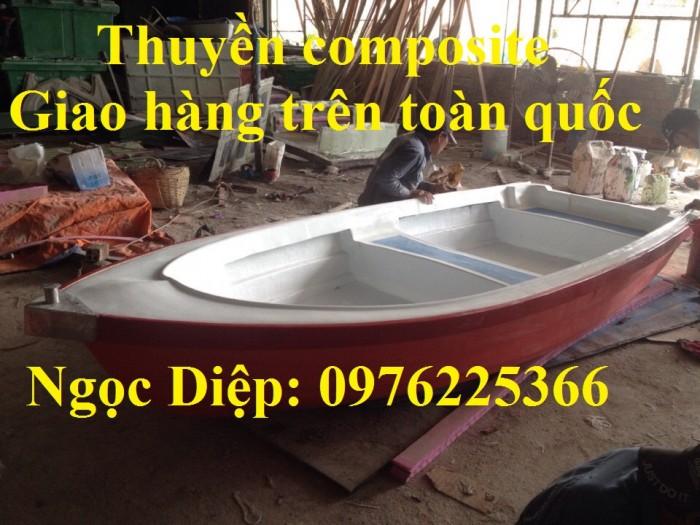 thuyền composite chở 3 - 5 người