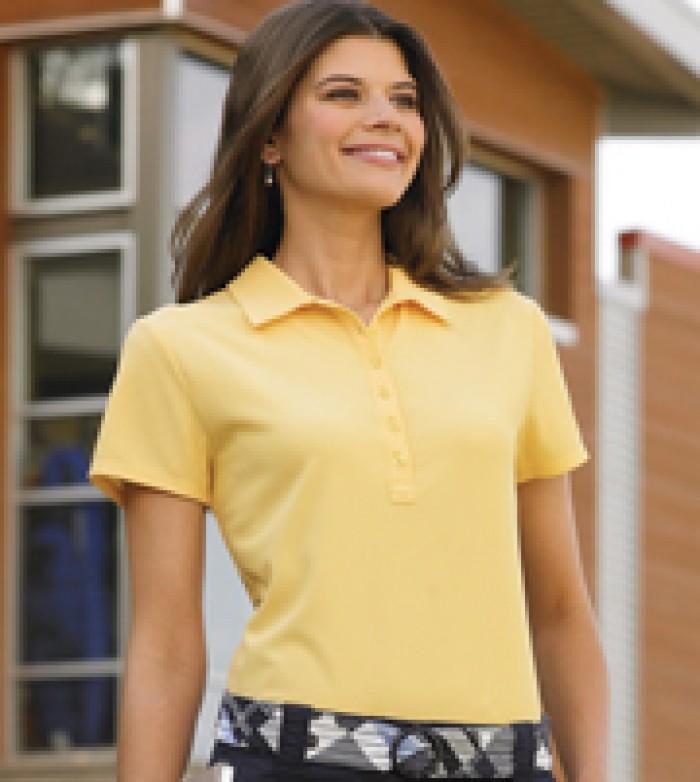 Áo Thun Polo Nữ Cotton 100%, 65/35% Hút ẩm tốt, thoáng mát In thêu logo sắc xảoSize: S-2XL 16 mẫu