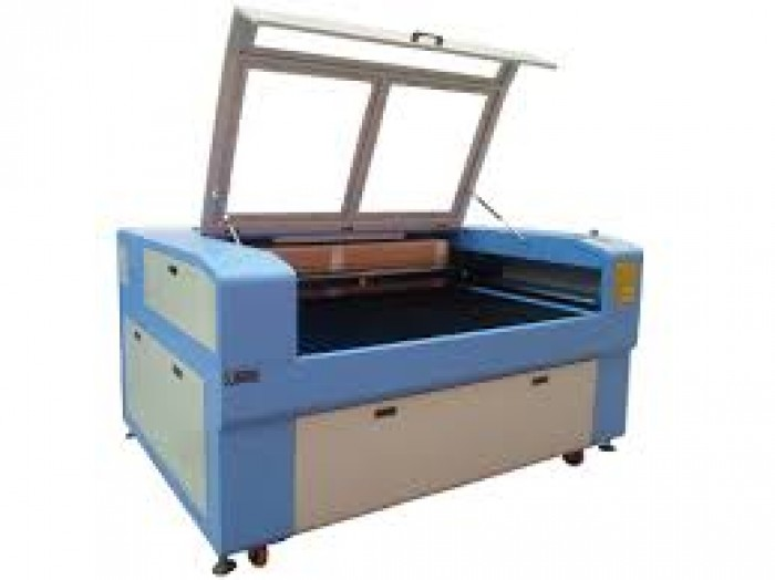 Máy laser 1390 nhập khẩu, máy cắt khắc vải, dấu….
