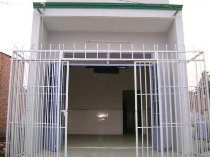 Bán nhà sau chợ Hóc Môn 3.8 x15 giá bán 600 triệu