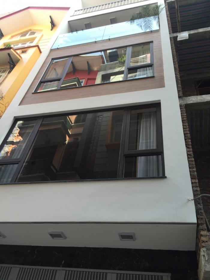 Cần bán nhà DT 120m, 6 tầng, MT 6m, Kim Giang, Hoàng Mai, Giá 12.89 tỷ