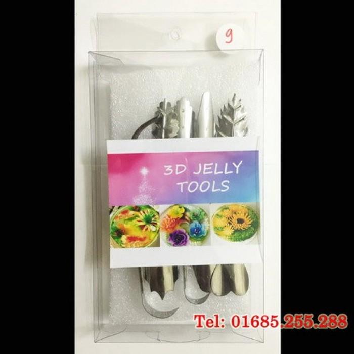 Khuôn rau câu 3D - Bộ Mỹ - Số 9  - Giá bán: 270.000 vnđ/ 1 bộ  - Sản xuất: USA