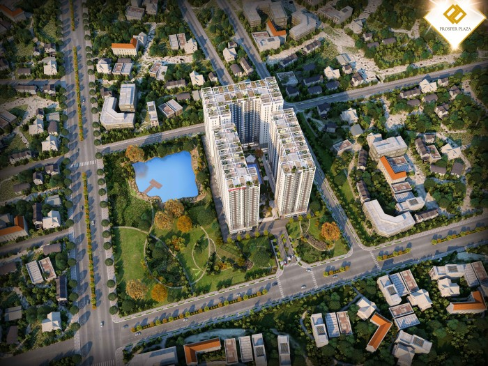 Căn hộ prosper plaza phan văn hớn 868 triệu/2pn