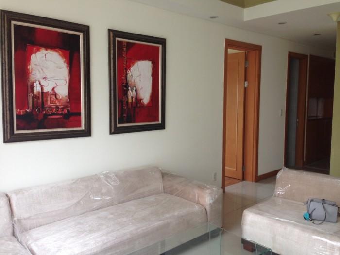 Cho thuê căn hộ THE MANOR 2 phòng ngủ đầy đủ nội thất