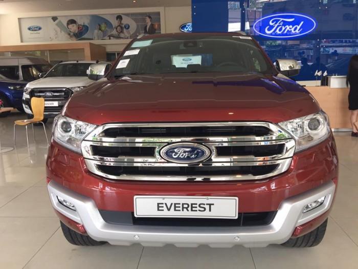 Ford Everest sản xuất năm 2018 Số tự động Dầu diesel