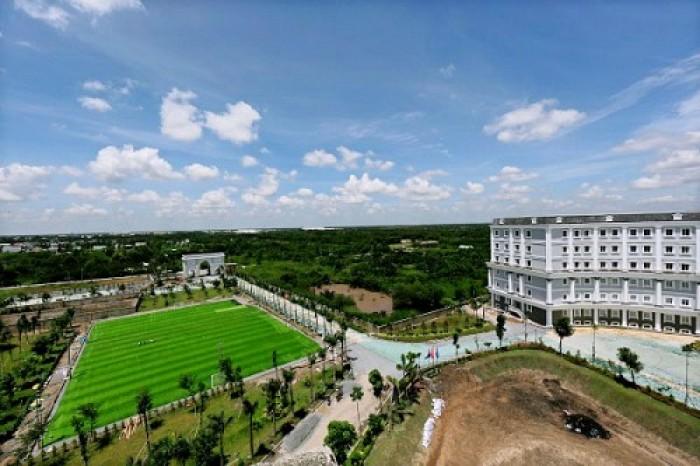 Đất nền biệt thự sổ đỏ trung tâm Nhà Bè chỉ 4,1 triệu/m2