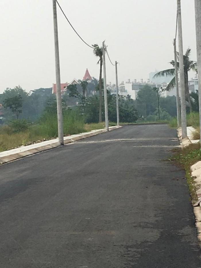 Đất thổ cư 5x16 khu dân cư Bến Xưa, P. Thạnh Lộc, Q.12, giá 1,85 tỷ