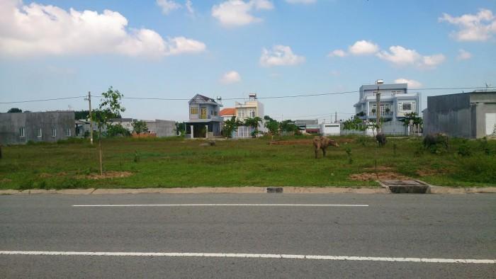Sang gấp lô đất mặt tiền 300m2(10x30m), gần khu đô thị Mỹ Phước