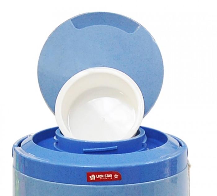 Bình đá nhựa Sahara 8L - TH9564 Nguyên liệu: 100% Nhựa nguyên sinh. Sản phẩm tuyệt đối an toàn cho sức khỏe. Dung tích bình: 8L