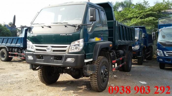 Cần bán xe ben Thaco Forland FD9000 2016 tải trọng 8,7 tấn, thùng mở bửng được, có bán trả góp