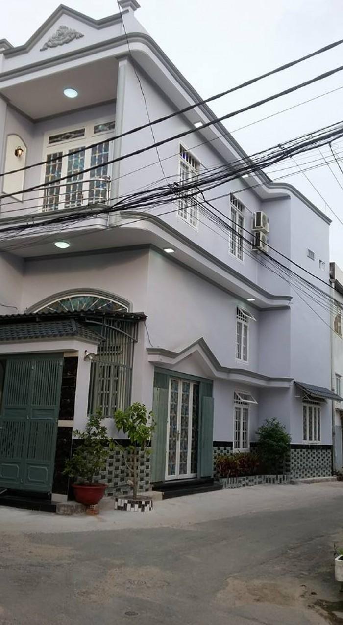 Nhà bán đường Phan Huy Ích,p 15 Tân Bình,dt :3.6 x 13 nở hậu 5.36 ,đúc 1 trệt ,1 lửng, 1 lầu, giá,2.85 tỷ