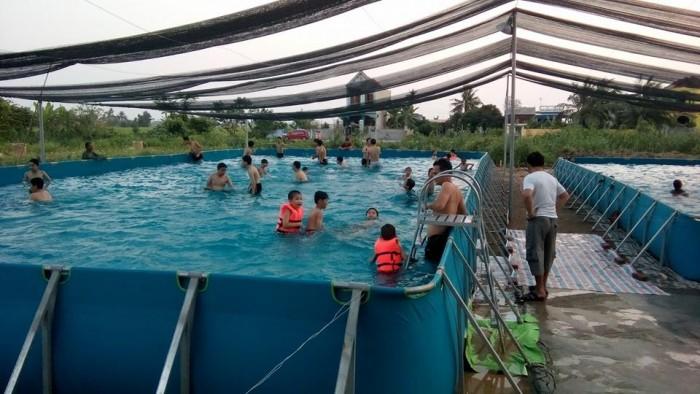 Hình ảnh lắp bể bơi tại TP Hải Phòng