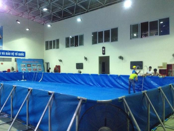 Lắp bể bơi tại nhà thì đấu Bến Tre