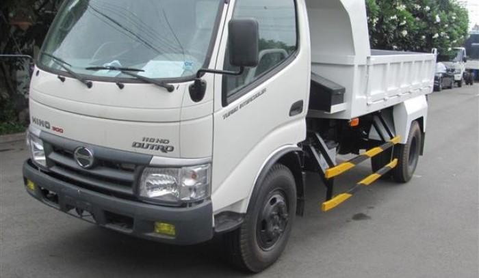 Thông tin bán xe ben Hino 5 tấn WU342L-NKMTJD3 hàng nhập khẩu giá tốt