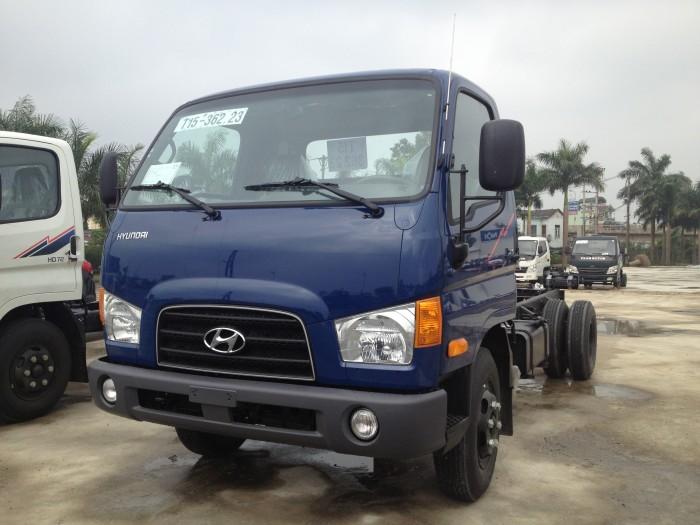 Xe tải ben HYUNDAI HD72 - 3,5 tấn, giá bán cạnh tranh, hỗ trợ mua trả góp