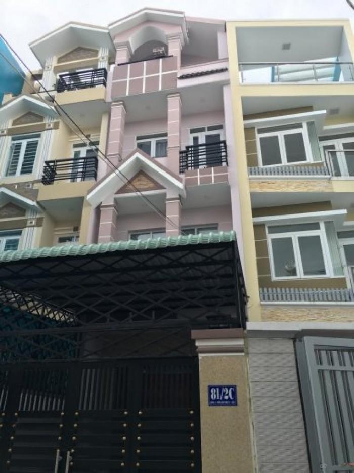 Bán nhà 1 trệt 3 lầu ngay sát đường Lê Văn Thịnh Bình Trưng Tây Q2 chỉ 3,5 tỷ