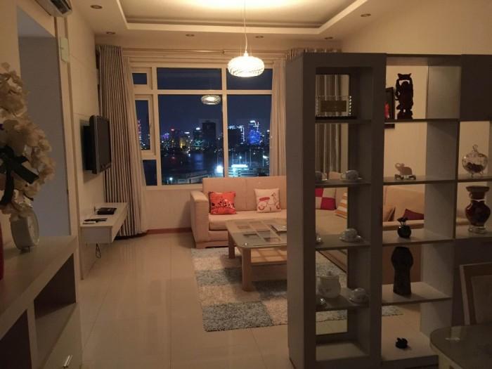 Căn hộ saigon pearl cho thuê 2 phòng ngủ, 1000usd/tháng, nội thất sang trọng