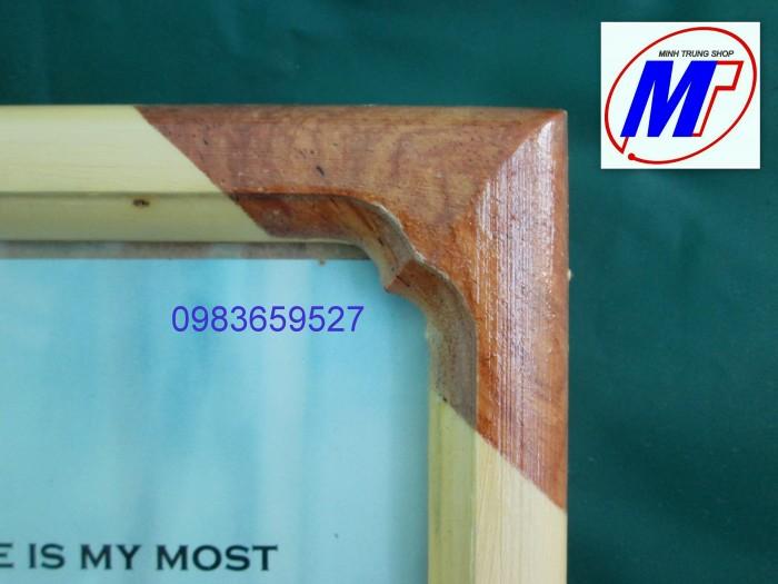 Bán Khung giấy khen gỗ thông tự nhiên1