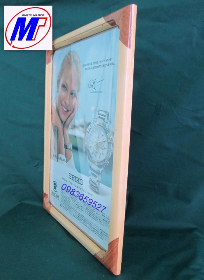 Bán Khung giấy khen gỗ thông tự nhiên2