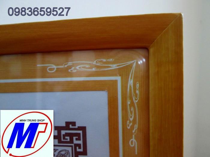 Bán Khung giấy khen gỗ dán decal  khung2