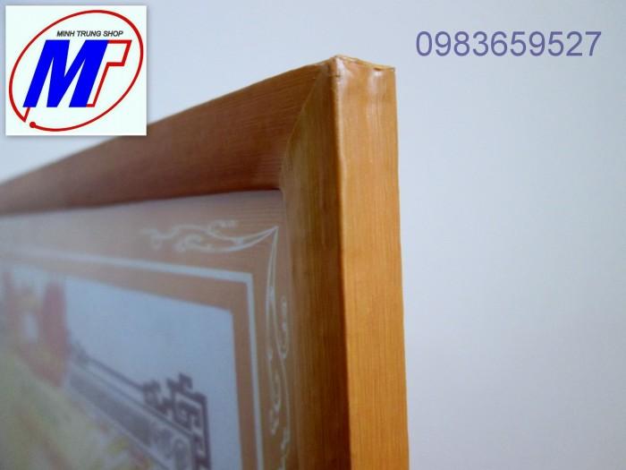 Bán Khung giấy khen gỗ dán decal  khung3