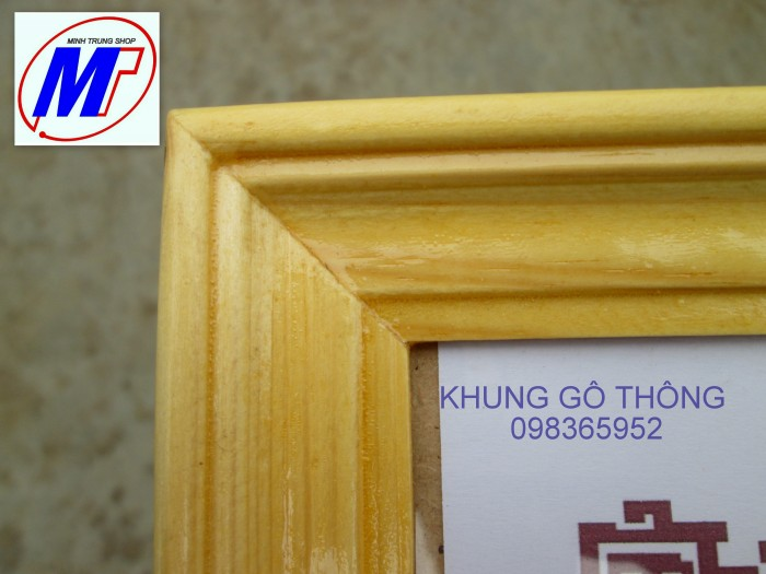 Bán khung giấy khen gỗ thông cao cấp 3 c3