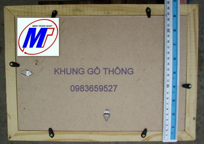 Bán khung giấy khen gỗ thông cao cấp 3 c2