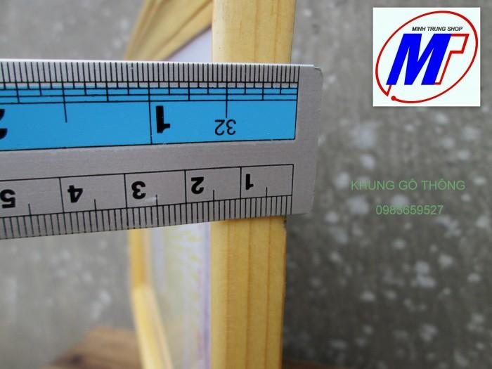 Bán khung giấy khen gỗ thông cao cấp 3 c4