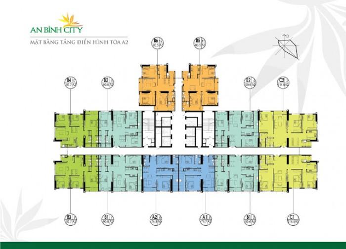 HOT, HOT, HOT, Chung cư An BÌnh city: vị trí vàng, không gian xanh.